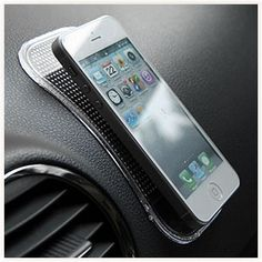 Support Antidérapant pour Voiture #support #voiture #gps #smartphone