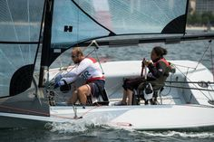 Alexandra Rickham and Niki Birrell: Bronze in sailing two-person keelboat race