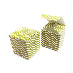 25 Craft Clouds  Gold Chevron Wedding Favor Boxes -- Read more reviews of the product by visiting the link on the image.