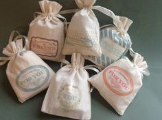 CTMH's new pigment inks are perfect for stamping on these adorable muslin bags. They make perfect little gift bags for hostess gifts, jewelry, soaps, perfumes, etc. Goodie Bags, Gift Bags, Eraser Stamp, Creative Bag, Muslin Bags, Craft Markets, Fabric Gifts, Close To My Heart, Hostess Gifts