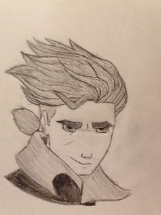 My drawing of Jim Hawkins from Treasure Planet #TreasurePlanet #Awesome #Disney
