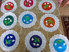 Mother's Day Craft Ideas for Kids. Snowdrops Card for Dear Mom