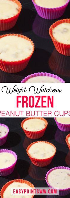 Frozen Peanut Butter Cups (Weight Watchers) ♥