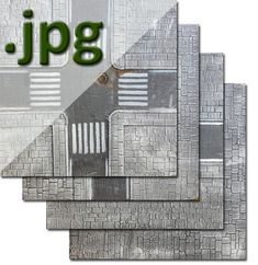 Asphalt Urban Tile Digital Images, 12 Ready to Print Files to create Modern Terrain Tiles, Suitable for Wargames and RPGs Imperial Eagle, Image Painting, 12 Image, Parking Design, Tile Design, Dungeons And Dragons, Digital Image, Tiles, Battle