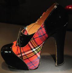 Tartan inspiration:  Vivienne Westwood shoes