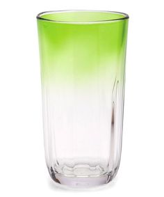 Take a look at this Green 23-Oz. Highball Tumbler - Set of Six by Tiki Party Collection on @zulily today!