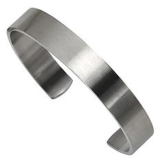 Men's Brushed Stainless Steel Cuff Bracelet - Item 19326875 | REEDS Jewelers