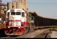 RailPictures.Net Photo: PAL 3801 Paducah & Louisville Railroad EMD GP38-2 at Louisville, Kentucky by Randy Moore