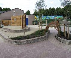 Afbeeldingsresultaat voor groen schoolplein