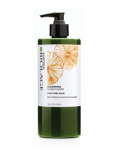 The Best Cleansing Conditioners for All Hair Types: Biolage Cleansing Conditioner (which has 4 different conditioners to choose from: fine, medium, curly, or coarse)