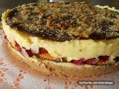 Ukusna, nepečena torta sa malinama ili nekim drugim voćem, po želji!