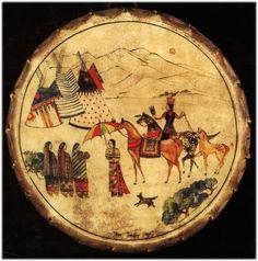Native American hand drum