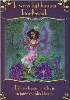 Orakelkaarten - Online orakels - Magische boodschap van de Elfen