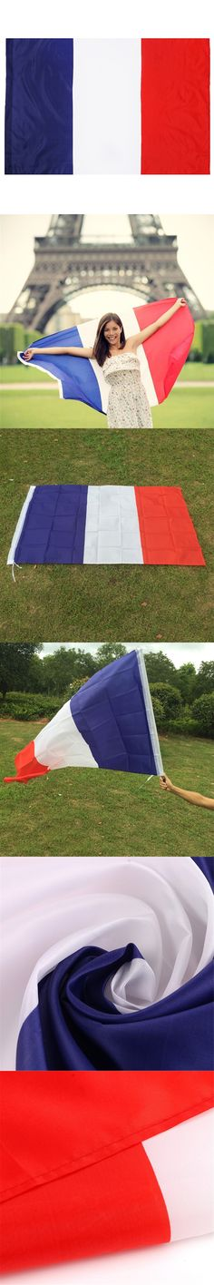 New Feet Large Polyester French Flag the France National Flags Home Decor $2.39