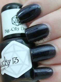 Accio Lacquer: Lucky 13 Lacquer Big-City Dandy