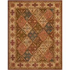 Safavieh Heritage Abbey Hand-Tufted Wool Area Rug, Beige