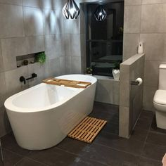 Beaumont Tiles upping the style stakes with this Contemporary Bathroom Grey Bathroom Tiles, Small Bathroom Sinks, Grey Tiles, Bathroom Pictures, Bathroom Renos, Grey Bathrooms, Bathroom Interior, Bathrooms Decor, Wall Tiles