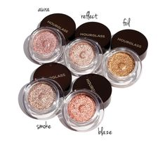 Hourglass Scattered Light Aura, Reflect, Foil, Smoke and Blaze Makeup Swatches, Makeup Dupes, Makeup Eyeshadow, Makeup Cosmetics, Lipstick Swatches, Makeup Kit, Makeup Brushes, Cream Eyeshadow, Glitter Eyeshadow