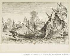 [La vie de Ferdinand Ier de Médicis]. [12], [Deuxième combat naval] : [estampe] / [Jacques Callot inc.] ; [Matteo Roselli inv.] - 1