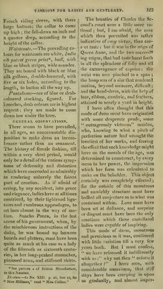 """""""Fashions for Ladies and Gentlemen"""" (cont.). February 1810."""