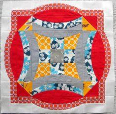 Sew Kind Of Wonderful: Urban Nine Patch QAL ~ Week #6 ~ Border