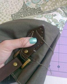 http://handmadebymrsh.blogspot.com/2013/10/how-to-attach-leather-handles.html
