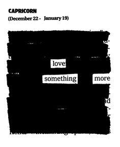 capricorn august horoscope: love something more