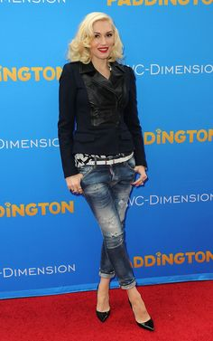 "Gwen Stefani in Premiere Of TWC-Dimension's ""Paddington"" - Arrivals"