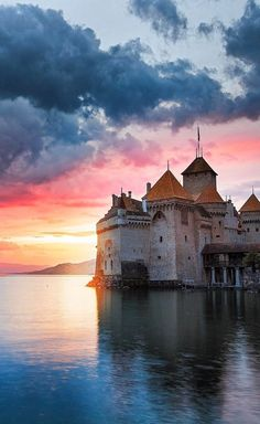 Chillon Castle , Switzerland