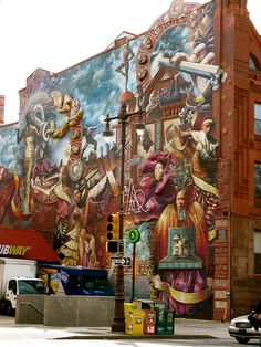 One beautiful mural of many in Philadelphia! Visit Philly and come see them all!