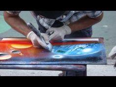 spray paint art on pinterest spray paint art new york. Black Bedroom Furniture Sets. Home Design Ideas