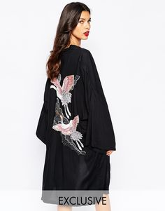 Liquorish+Kimono+with+Embellished+Birds+to+Back