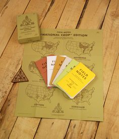 Field Notes National Crop limited edition