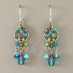 Love these! Firefly Teal Earrings from Fairweather Galleries in Juneau, Alaska