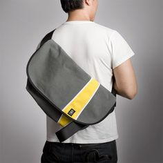Hard not to love.  Crumpler's Western Lawn messenger line, only $90