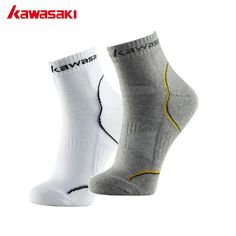 Hot Discount $5.49, Buy Kawasaki Brand Original Sports Socks for Running Cycling Basketball Fitness Breathable Men Socks Cotton Prevent Smelly Feet