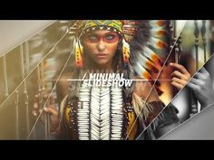 How To Create A Minimal Slideshow, After Effects Tutorial & Template - YouTube