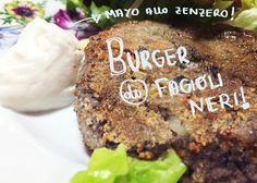 Veggie burger di fagioli neri  #patatabollente #patatabollenteroma #roma #romavegana #healthyfood #vegan #veganfood #veganfoodshare #vegetarian #whatveganseat #animalfriendly #foodroma #romafood #italyfood