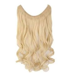 No-Clip Halo Hair Extensions - Honeycomb Curls Secret Hair Extensions, One Piece Hair Extensions, Halo Hair Extensions, Pelo Rasta, Shampooing Sec, Hello Hair, Hair Flip, Hair Cut, Bleach Blonde