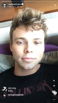 Ash on his first livestream