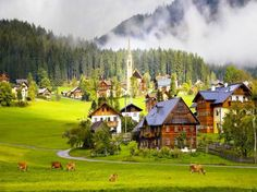 Mountain Cottages 10 634x475 Mountain Cottages for Relaxing