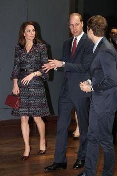 Le prince William le duc de Cambridge et Catherine la duchesse de Cambridge prennent un