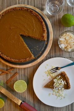 Coconut Pumpkin Pie {Gluten Free}