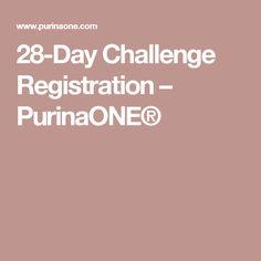 28-Day Challenge Registration – PurinaONE®