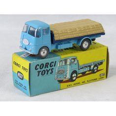 Corgi Toys ERF Model 44G platform lorry number 457