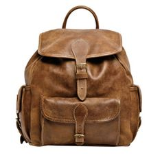 Roots - Hiking Pack Tribe. Im starting an obsession with leather I think .. Hope it wont last , its kind of expensive loll hahaha.Also perfect for school, and travel