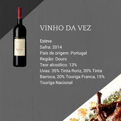 O Esteva 2014 é o vinho mais acessível da Casa Ferreirinha que, apesar de ter o mesmo pedigree dos tops da Casa, é para ser tomado no dia a dia.