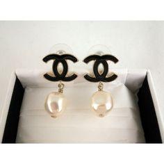 Perlen ohrringe chanel