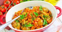 Recette de Mijoté léger de choux de Bruxelles carotte et tomate. Facile et rapide à réaliser, goûteuse et diététique.