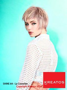 Kreatos kapsels voor vrouwen 2016 - La croisette - haar kort blond